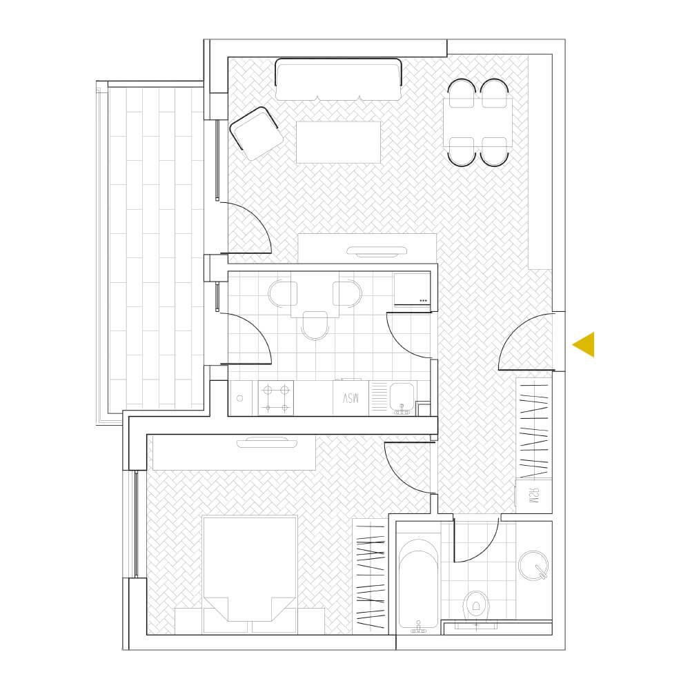 Apartamente 2 camere Timpuri Noi