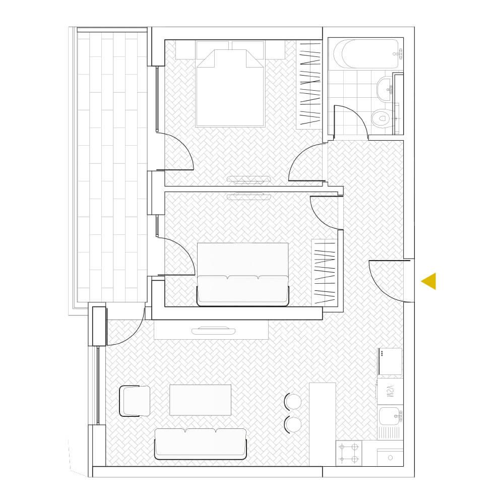 Apartamente 2 camere + birou Timpuri Noi